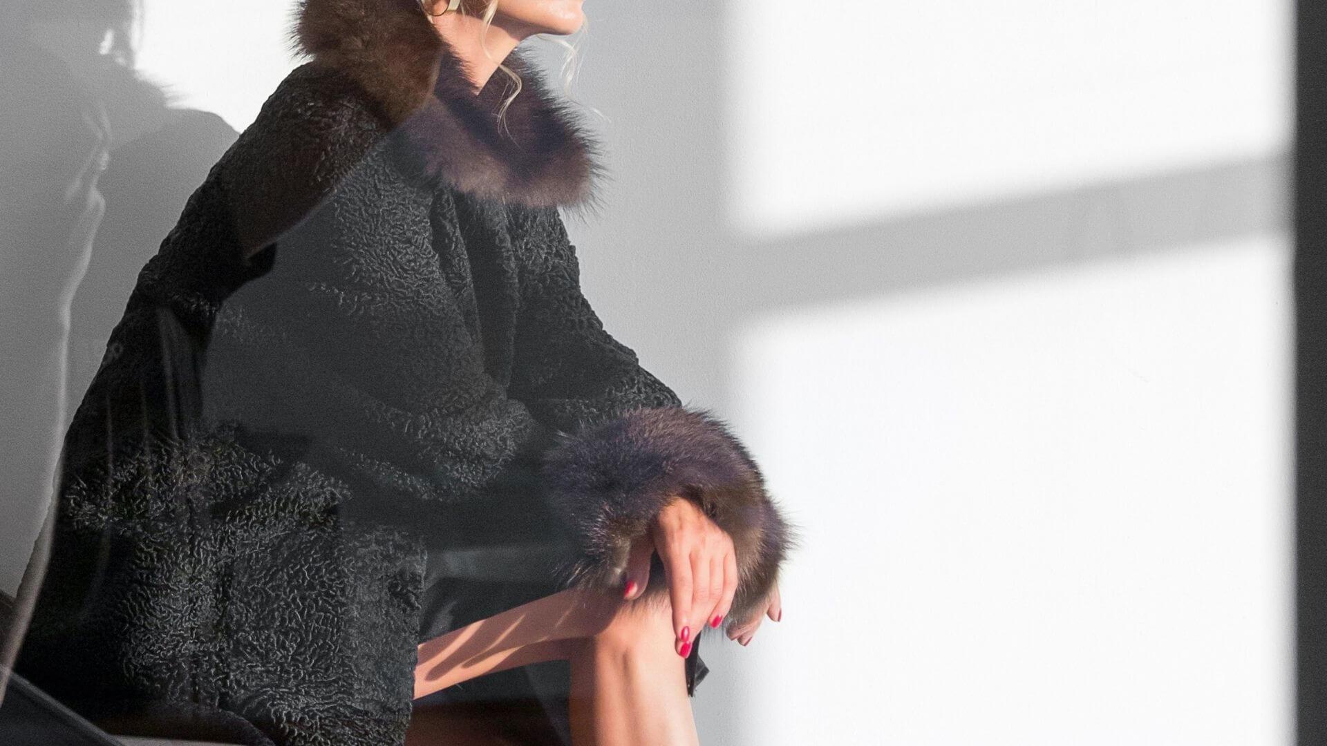 Remake an old fur coat