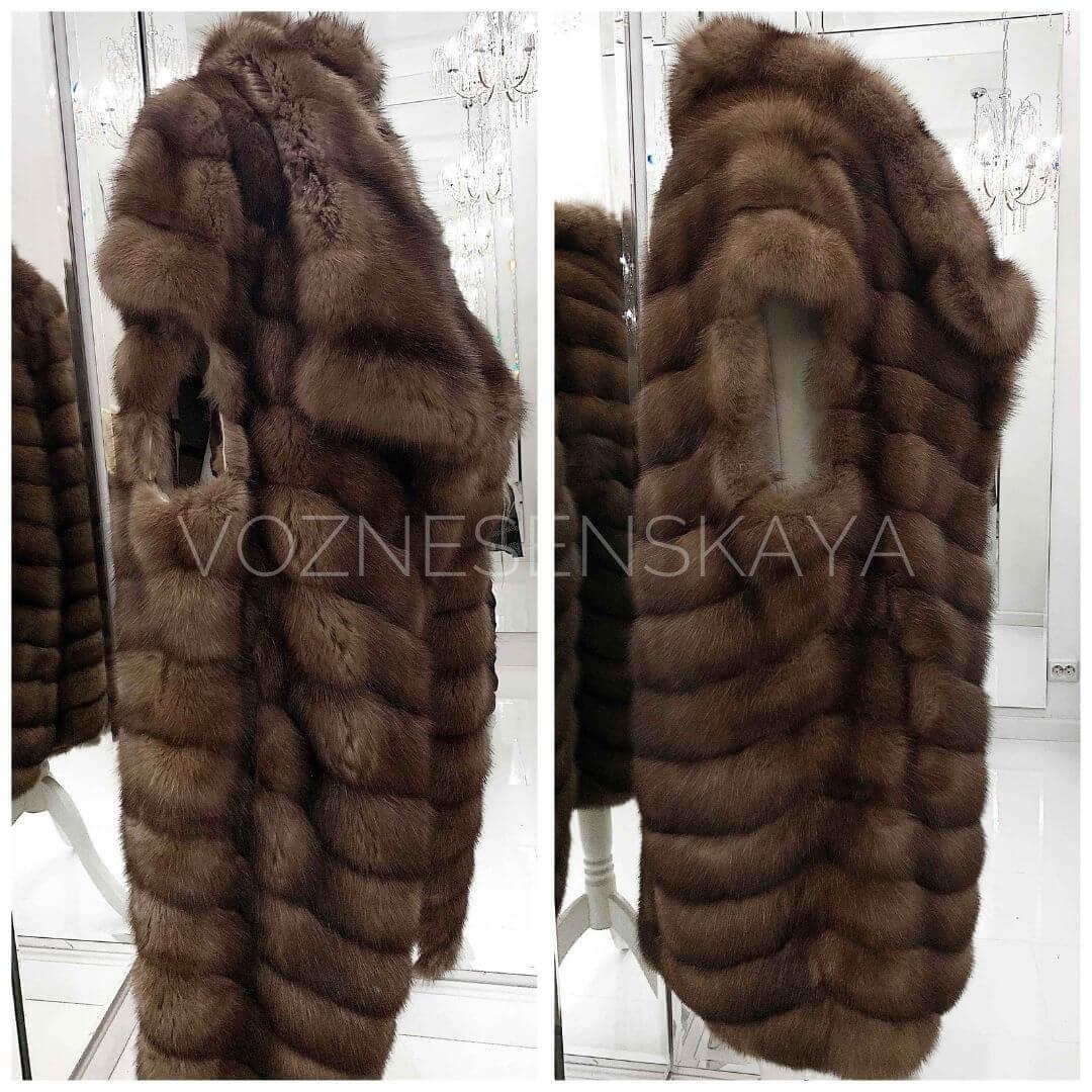 Restoration of a sable fur coat